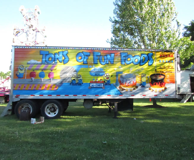 Food Stock Trailer